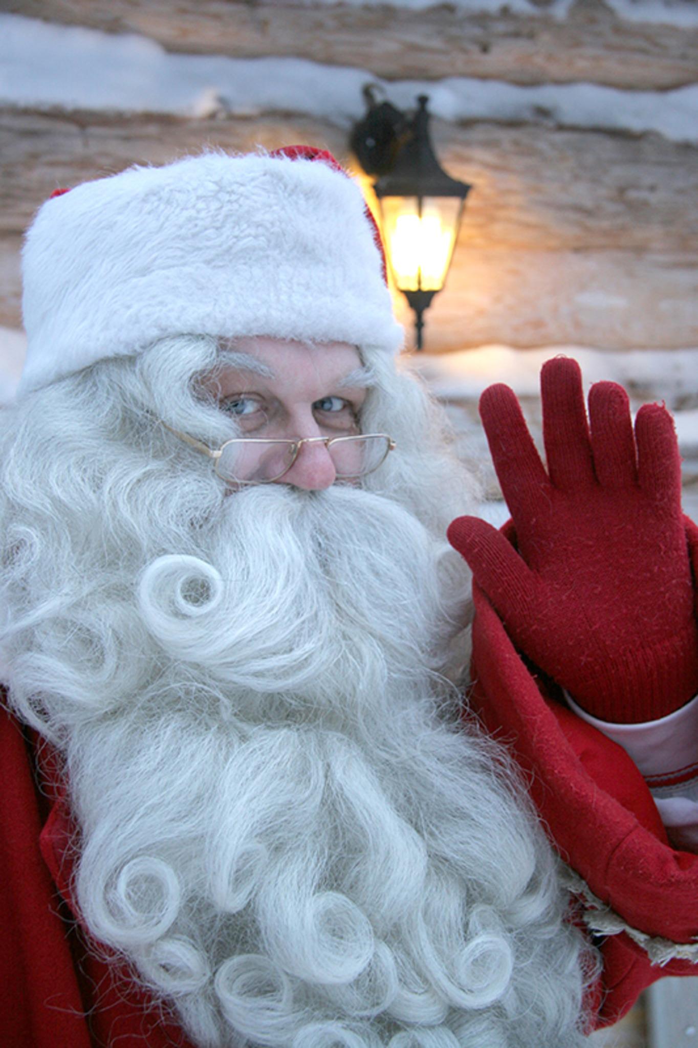 Aus dem hohen Norden: Der Weihnachtsmann aus Lappland besucht Wien ...