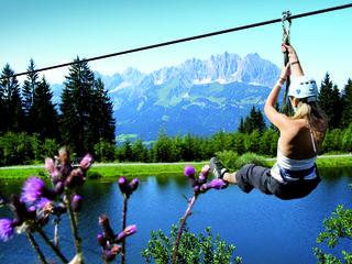 Von wegen abwärts: In der Region Kitzbüheler Alpen St. Johann gab es gute Nächtigungszuwächse.