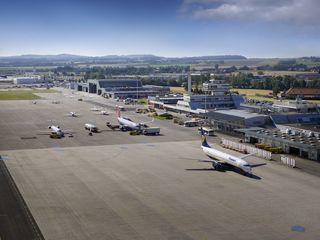 Der Flughafen hat bei der Fracht starke Zahlen vorzuweisen, allerdings nicht bei den Passagieren.