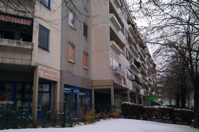 In dieser Wohnanlage der GESIBA in der Linzer Straße wurden Legionellen-Bakterien in den Wasserleitungen nachgewiesen