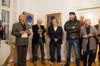 Wolfgang Kober, Salvatore Mainardi, Gerhard Priester, Günter Blumauer und Erika Kober