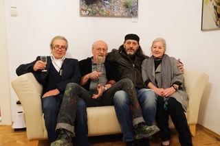 Gerhard Priester, Salvatore Mainardi, Günter Blumauer und Erika Kober