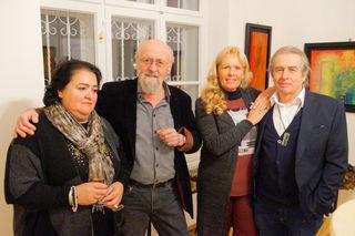 Salvatore Mainardi und Gerhard Priester mit iGattinen