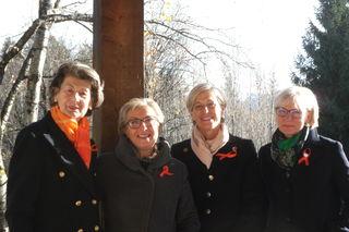 Heidrun Konrad, Sissy Rosam, Marlene Bacher, Brigitte Kuschinsky