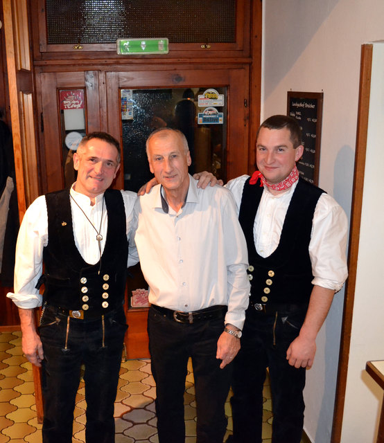 Günther Neuwirth, Johann Dangl, Dominik Thor