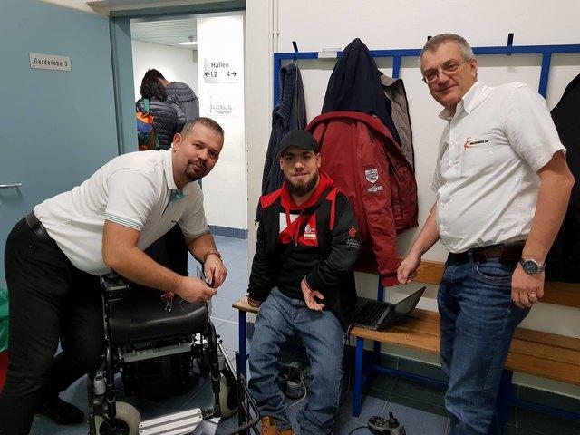 Dank der schnellen und unkomplizierten Hilfe der Firma Frühwald konnte Iljas Jusic am ottobock-Cup teilnehmen - und gewinnen!