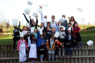 Das Projekt Schule trifft Koch mit Thomas Ranninger machte den Schülern sichtlich Spaß.