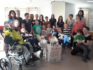 86 dm Packerl für Kinder des Förderzentrums Waldhausen