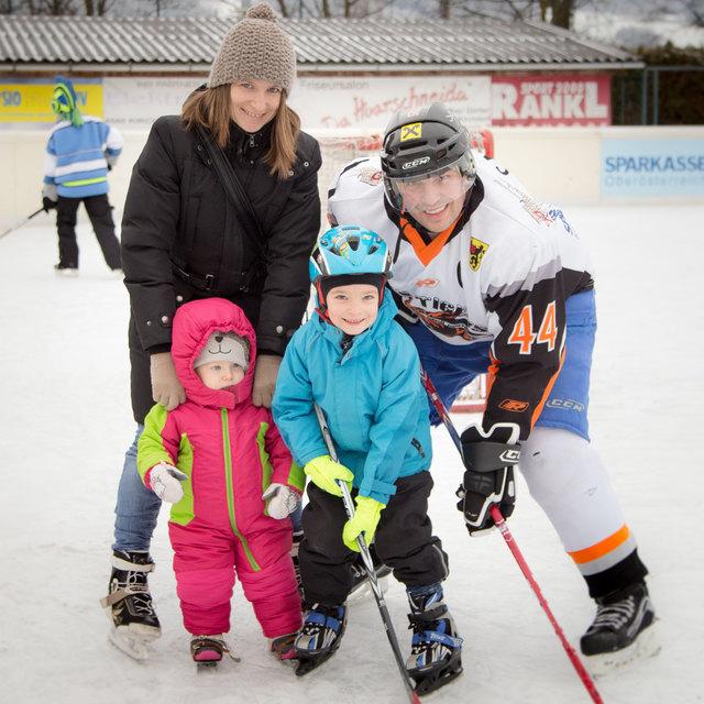 Tag der offenen Tür bei den Ice Tigers in Kirchdorf