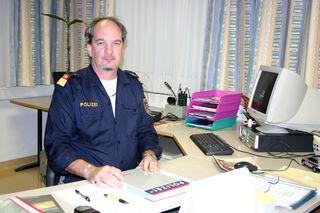 Bezirkspolizeikommandant Paul Palisek