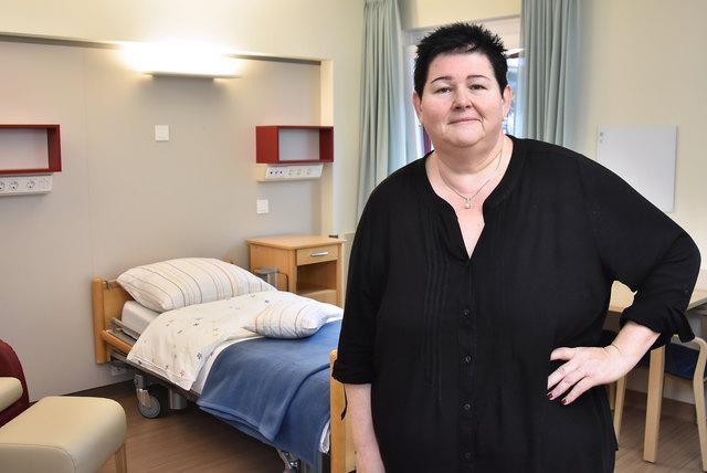 Bereichsleiterin Andrea Schwarz kümmert sich um das Hospiz Rennweg und das mobile Palliativ-Team.