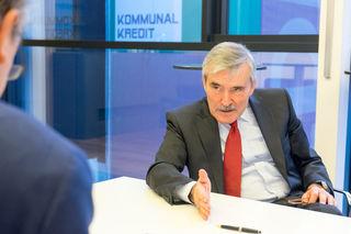 """Kommunalkredit-Chef Alois Steinbichler im Interview mit RMA-Chefredakteur Wolfgang Unterhuber: """"Österreich ist international noch immer erste Adresse."""""""
