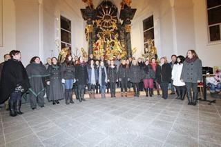 """Der Männergesangsverein, Gemischte Chor und die Gospelgruppe """"Grenzwacht Lavamünd"""" laden am 17. Dezember zum Adventkonzert nach Lavamünd (Foto: Grenzwacht Lavamünd)"""