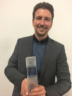 Andreas Temmer und sein Team freuten sich über diese grandiose Auszeichnung.