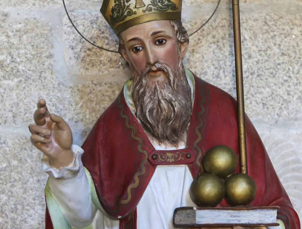 Der Heilige Nikolaus Bischof Von Myra Graz Umgebung