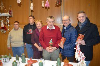 Foto: Mario und Martin Groiss, Leiterin Elfriede Rosnak, Anton Stimakovits, Werner Gradwohl, Patrik Fazekas