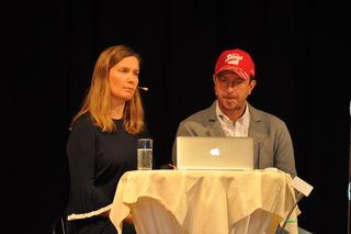 Angela und Alexander Pointner waren in Waidhofen zu Gast.