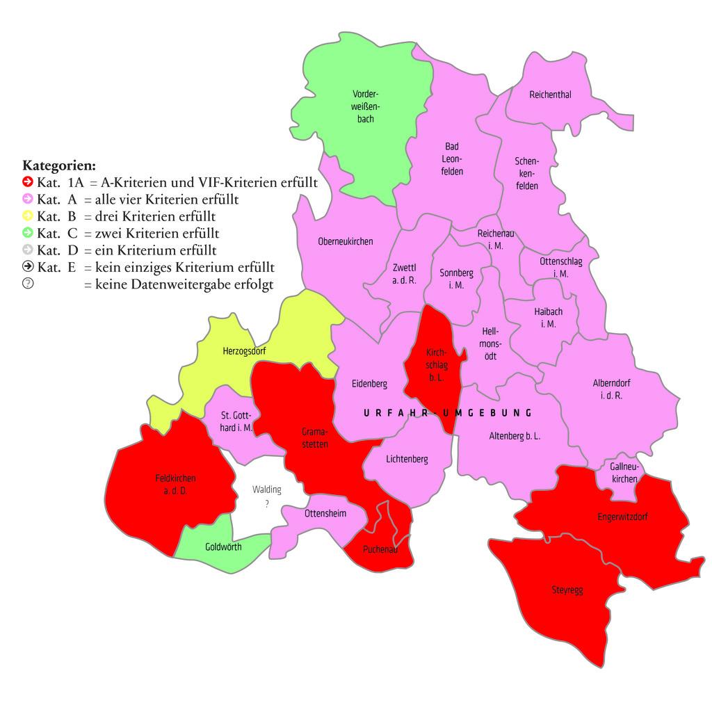 Engerwitzdorf, Feldkirchen, Gramastetten, Kirchschlag, Puchenau & Steyregg haben laut AK das beste Kinderbetreuungsangebot.