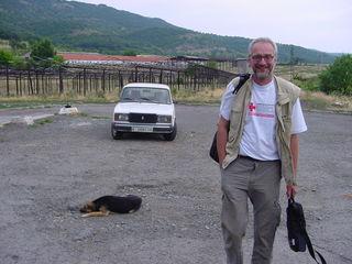 Der Musikschullehrer Robert Schmidt aus Steyr gilt als erfahrener Mitarbeiter in der Katastrophenhilfe des OÖ. Roten Kreuzes.