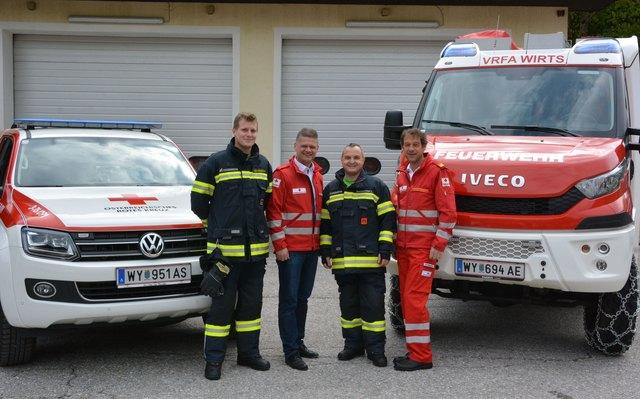 Das Rote Kreuz, die Feuerwehren und andere leisten pro Jahr 720 Millionen Arbeitsstunden pro Jahr, berichtet Andreas Hanger.