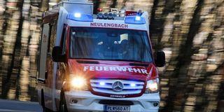 Die Feuerwehr Neulengbach-Stadt unterstützte den Rettungsdienst.