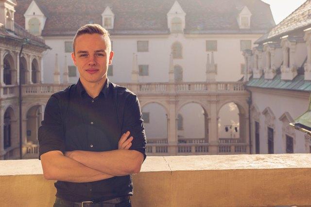Peter Drechsler, Landesvorsitzender der SJ Steiermark