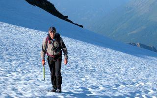 Machreich auf dem Weg zum Großglockner-Gipfel (3.798 Meter).