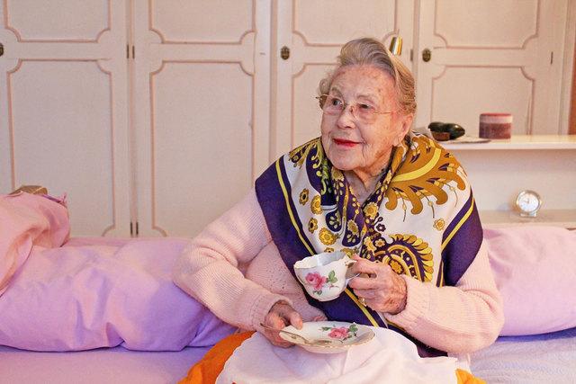 Wohnt seit 46 Jahren am Alsergrund: Herta Warnecke feierte unlängst ihren 104. Geburtstag.