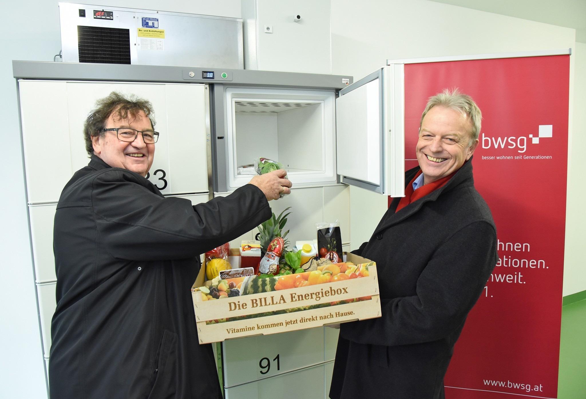 Inbetriebnahme österreichs Erster Delymate In St Pöltner