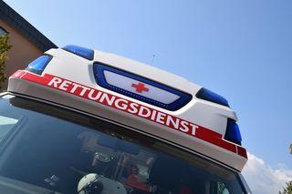 Die Beifahrer wurden von der Rettung ins UKH gebracht