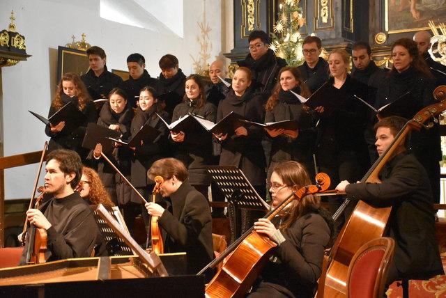 Waldhausener Advent mit Studierenden der Anton Bruckner Privatuniversität