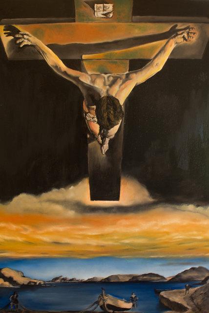 Christus des heiligen Johannes vom Kreuz (einer Darstellung von Dali nachempfunden)