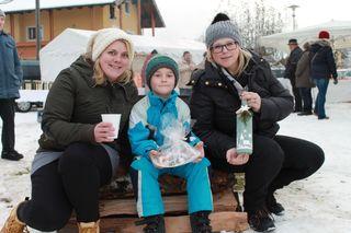 Elena, Michael und Katrin (von links)