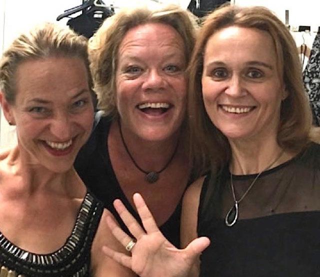 Sabine Beese, Kari Kinschel-Agdestein und Ines Grafenauer (von links nach rechts), The Voice Company - drei Stimmen, die bezaubern und unter die Haut gehen.  Voice Company