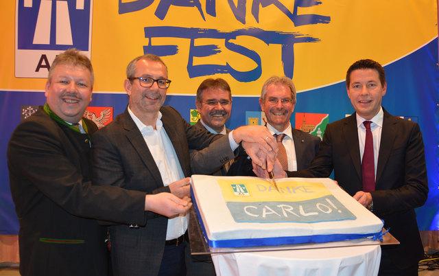 Thomas Grießl, Alexander Walcher, Manfred Schulz, Karl Wilfing und Kurt Hackl