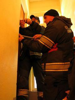 Die Oberwarter Floriani befreiten eine Frau aus ihrem Haus.