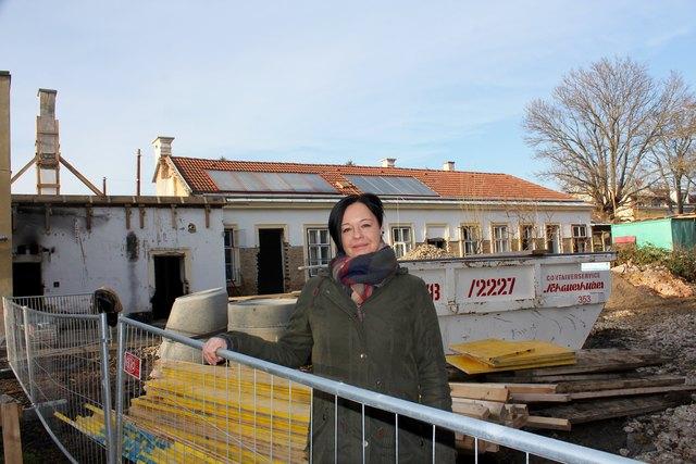 """Sabine Danzinger begleitet das Projekt VinziDorf seit über einem Jahr: """"Ich will aufklären und bleibe auch nach der Eröffnung dabei!"""""""