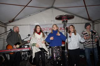 Beste Stimmung herrschte beim Auftritt von Chrissi Klug mit Band im FMZ.