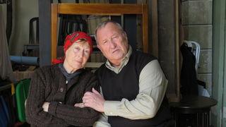Dany Sigel und Peter Josch als »Josef und Maria«