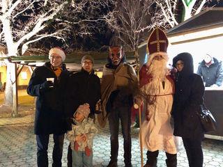 Nikolo und Krampus waren in Jois zu Besuch.