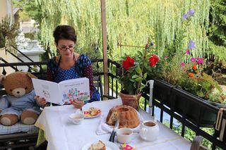 Angela Szivatz machte aus einem netten Geburtstagsgeschenk für ihre Enkelin ein Kinderbuch für die Allgemeinheit.