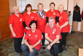 Die freiwilligen Helferinnen und Helfer des Club Miteinander Siegendorf