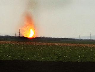 In der großen OMV-Gasstation in Baumgarten hat sich eine Explosion ereignet.