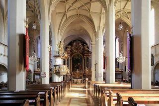 """Unter dem Motto """"Melodien im Advent"""" werden in der Purgstaller Pfarrkirche bei einem Adventkonzert besinnliche Klänge geboten."""