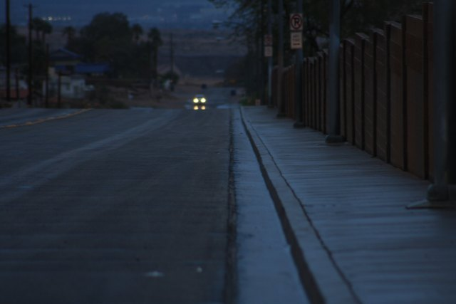 Gerade in der dunklen Jahreszeit sollte das Fahrzeug ausreichend beleuchtet sein.