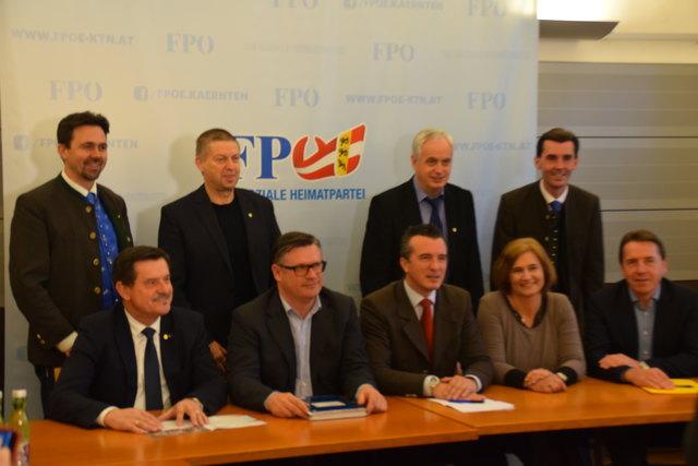 Die Partei-Liste steht fest - die FPÖ will die stimmstärkste Partei in Kärnten werden