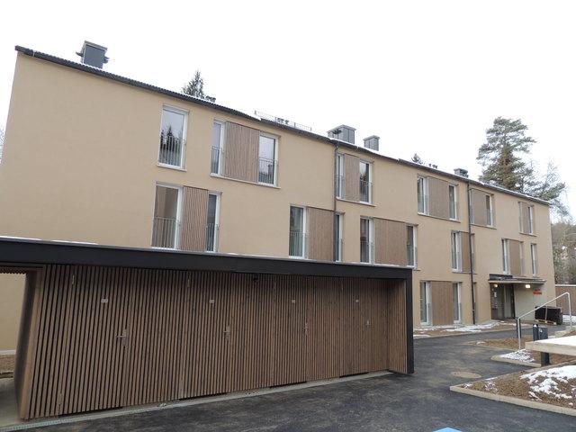 23 neue Wohnungen wurden in Haselsdorf-Tobelbad bezogen.