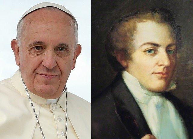 Papst Franziskus und Prophet Joseph Smith