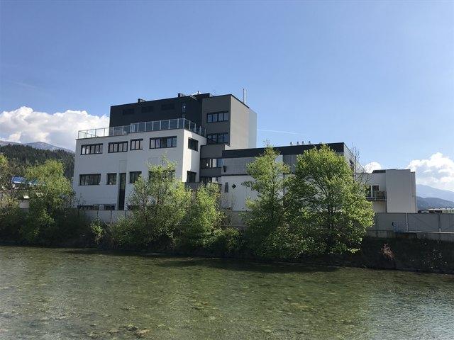 Der achtstöckige Merck-Neubau für acht Millionen