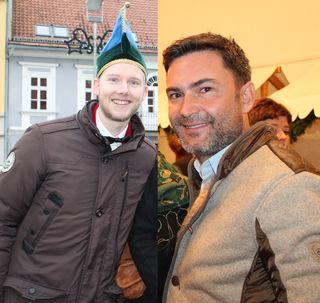 Hannes Spitzer (links) ist der neue Obmann, Markus Lakounigg hat das Amt nach zehn Jahren zurückgelegt